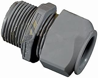 Liquid Tight Strain Relief Cord Grip - 3/4 Inch NPT Thread, w/1 Round Hole For 0.4