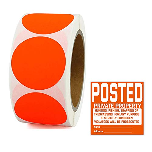 """2"""" Round Color Coding Dot Labels