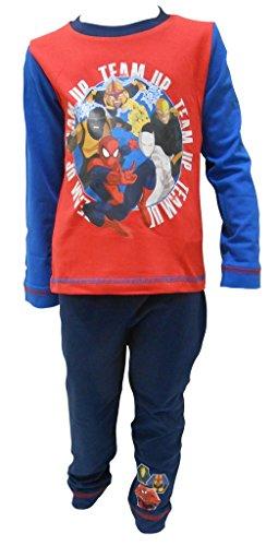 Spiderman - Pijama dos piezas - Manga Larga - para niño multicolor 92 cm