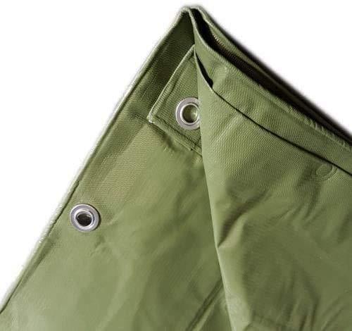 AGRIPRO Bâche PVC à œillets, imperméable, extérieur, vert, multi-usages, ultra (3 x 3 m)