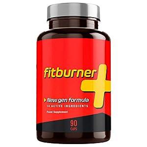Fitburner+   Quemagrasas Potente y Natural   Pastillas para Adelgazar Rápido   Supresor de Apetito para Perder Peso   Quemador de Grasa Abdominal   90 Pastillas Veganas