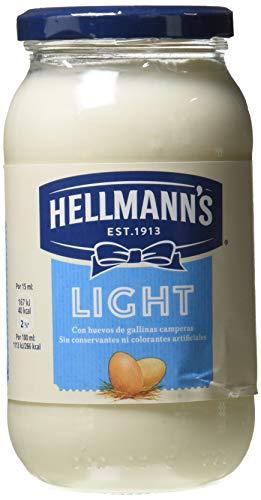 Hellmann\'s Mayonesa Light - Paquete de 12 x 430 ml - Total: 5160 ml