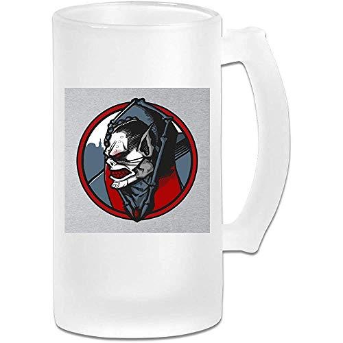 Gedruckte 16oz Milchglas Bier Stein Tasse Tasse - Eternias schlechteste Hordak Meister des Universums - Grafikbecher