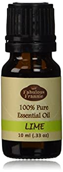 Lime 100% Pure Undiluted Essential Oil Therapeutic Grade - 10 ml Great for Aromatherapy!