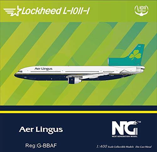 NG Model NGM31015 1:400 AER Lingus Lockheed L-1011-100 Reg #G-BBAF (pre-Painted/pre-Built)