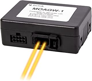Teclink Optical Fiber Decoder Box for Car Stereo Mercedes E-Class W211 SLK R171 CLS-Class: MOAGW-1