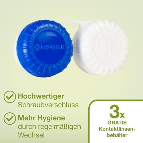 Kontaktlinsen Pflegemittel mit Hyaluron All-in-One Kombilösung Lensdealer 6x 360ml Kontaktlinsenflüssigkeit (6) - 5