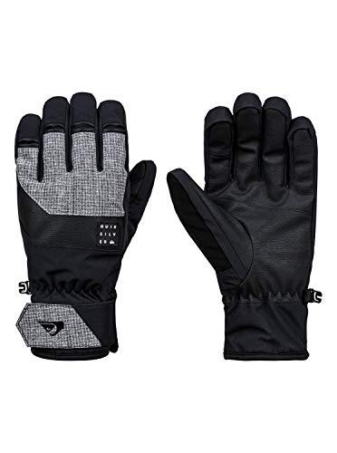 Quiksilver Gates Glove-Gants de Ski/Snowboard pour Homme, Black, FR : S (Taille Fabricant : S)