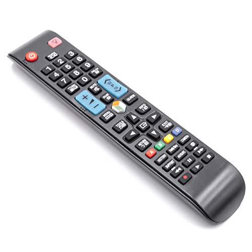 vhbw Fernbedienung passend für Samsung UE46ES8005, UE46ES8007, UE46ES8080, UE46ES8090, UE55ES7000, UE55ES7005 Fernseher, TV