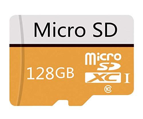 Tarjeta de memoria Micro SD de alta velocidad Clase 10 SDXC con adaptador de 128 GB