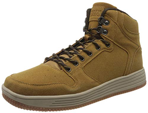 Urban Classics Unisex-Erwachsene High Top Winter Hohe Sneaker, Braun (Honey 01466), 45 EU