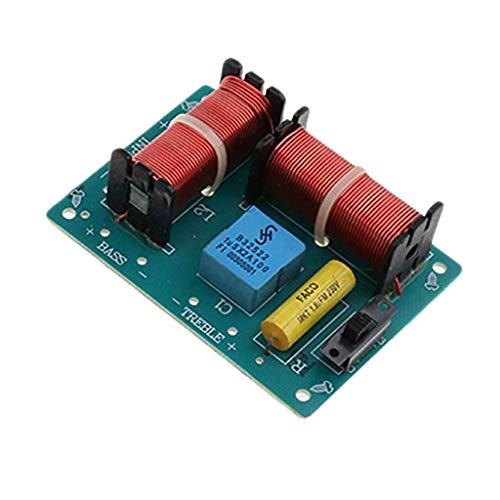 Baoblaze Diviseur de Fréquence Haute Basse Audio Haut-parleurs Filtres 2 Voies 100W en Consommation d'Energie Inférieure Taille 83 * 63 * 30mm