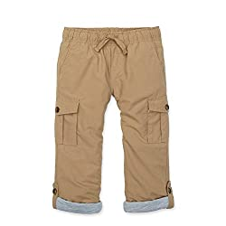 Hope & Henry Boys  Khaki Pull-On Cargo Pants
