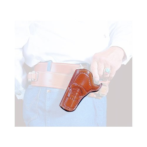 DeSantis DOC Holiday Cross Draw Holster fits 4 3/4-Inch Colt SAA, Right Hand, Tan