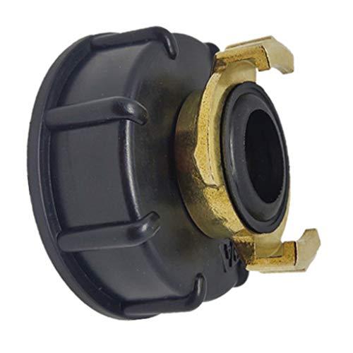 Mi Tu Wasserspeicher Tank IBC Tank Adapter S60X6 Geka Style Schlauchanschluss Bewässerung Praktische Auslaufgewinde Zubehör Beschläge