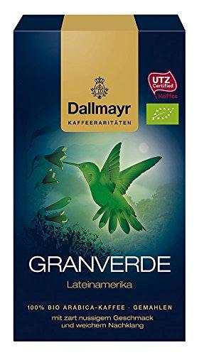 Dallmayr Kaffee Kaffeerarität Granverde Filterkaffee, HVP, 4er Pack (4 x 250 g)
