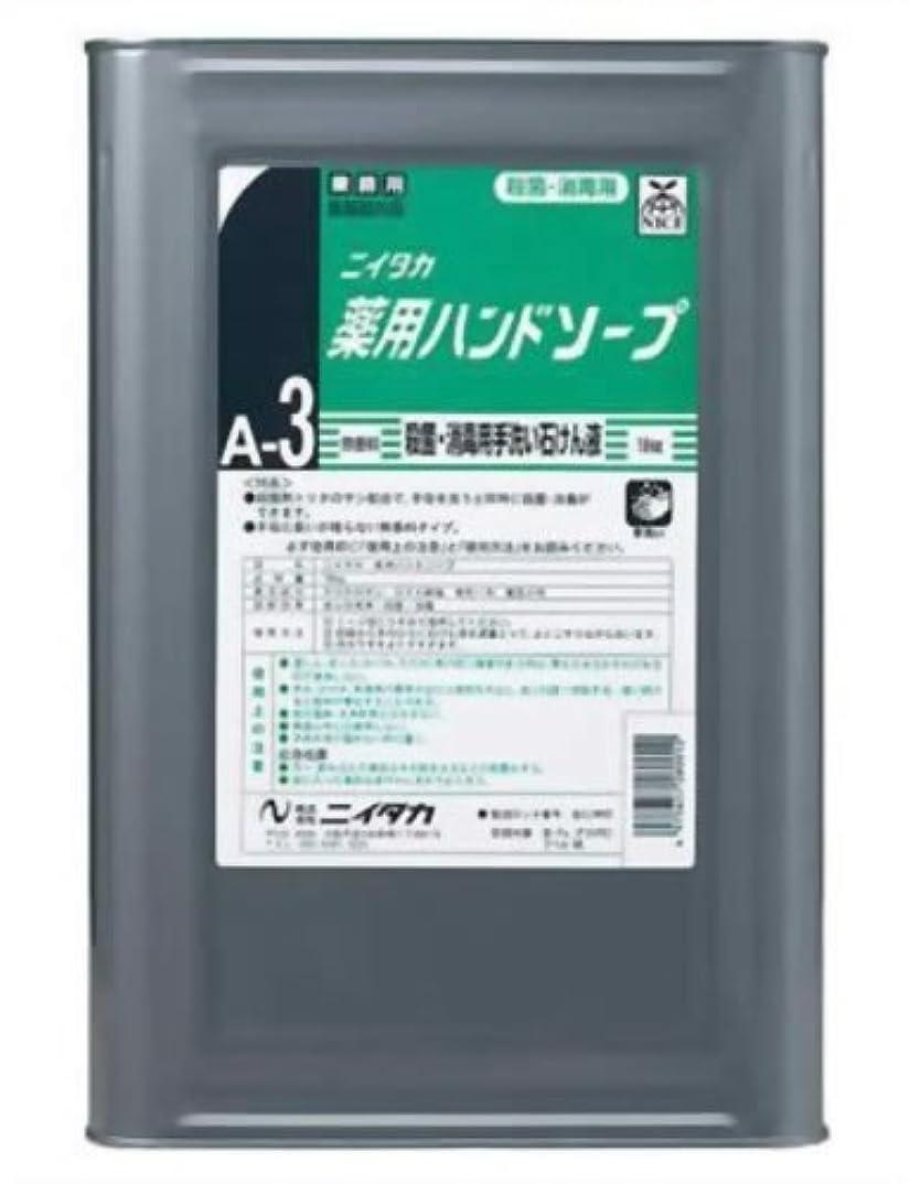 クライマックス安全哲学的業務用 ニイタカ 薬用ハンドソープ 18kg