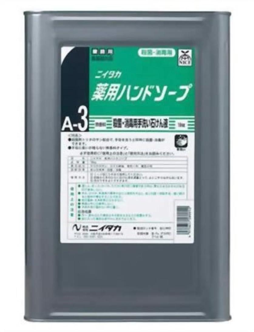高度批判的平らにする業務用 ニイタカ 薬用ハンドソープ 18kg