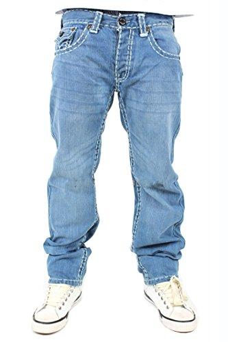 Peviani - Jeans - Uomo blue stonewash