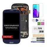 SRJTEK Reemplazo De Pantalla LCD TFT para Samsung Galaxy S3 Neo I9301 4.8'Pantalla LCD Digitalizador De Pantalla Táctil Nuevo Ensamblaje (no AMOLED) (Negro)