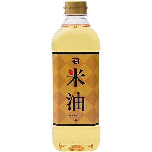 【 持留製油 】 カネモ 米油 600g ×2本