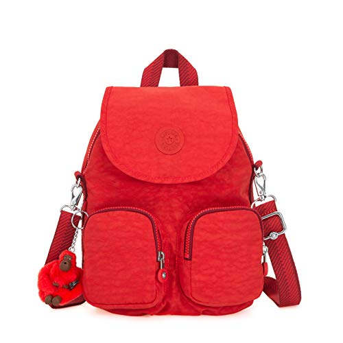 Kipling Damen Firefly Up Rucksack Rot (Active Red)