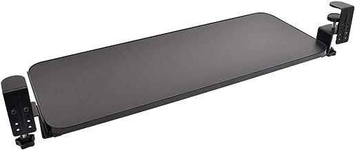 THANKO 後付けできるデスク収納「スライド式キーボードトレイ2」 SCTAKTBK キーボード クランプ スライダー