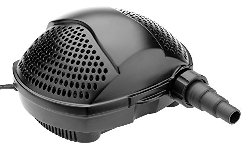 Pontec PondoMax Eco 3500 filterpomp en beeklooppomp, filterpompen en beeklooppompen, zwart, 24 x 29 x 14 cm