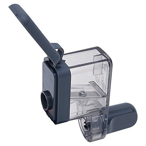 カール事務器 鉛筆削り クルクル 日本製 グレー CPS-85-D