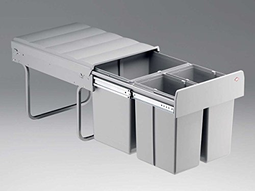 Wesco Trio Master 787821-85 Einbau Abfallsammler Abfalleimer Mülleimer Haushalt