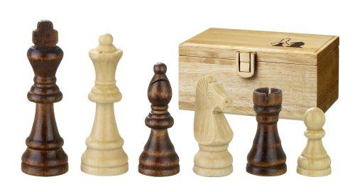 Philos 2005 - Schachfiguren Remus, Königshöhe 89 mm, in Figurenbox