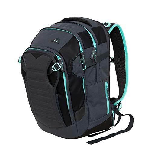 Satch match Schulrucksack - ergonomisch, erweiterbar auf 35 Liter, extra Fronttasche - Mint Phantom - Mint