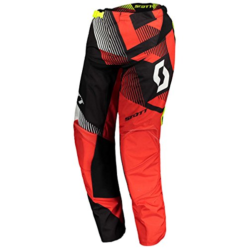 Scott 350 Dirt Pantalon motocross 2018 Rouge/Noir
