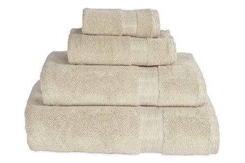 DKNY Mercer Cotton Hand Towel Stone, 18' W x 28' L
