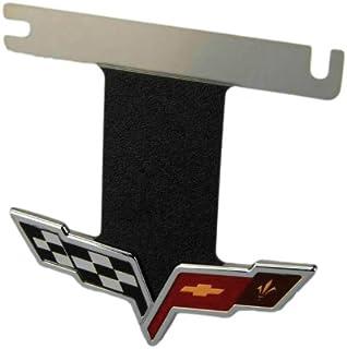 C6 Corvette Exhaust Plate Emblem Fits: All 05 through 13 Corvettes