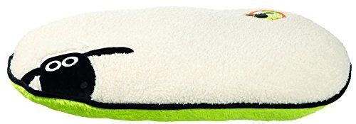 Trixie 36878 Shaun das Schaf Kissen, oval, 95 x 60 cm