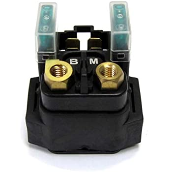 amazon.com: caltric starter solenoid relay compatible with yamaha raptor 660  yfm660 2001-2005: automotive  amazon.com