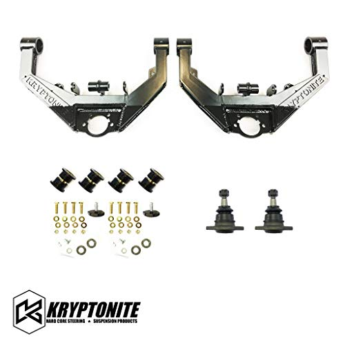 Kryptonite Stage 2 Dual Shock Upper Control Arm Kit KRUCA10S2 Compatible with 2001-2010 Chevy/GMC 2500HD/3500HD 8 Lug Trucks