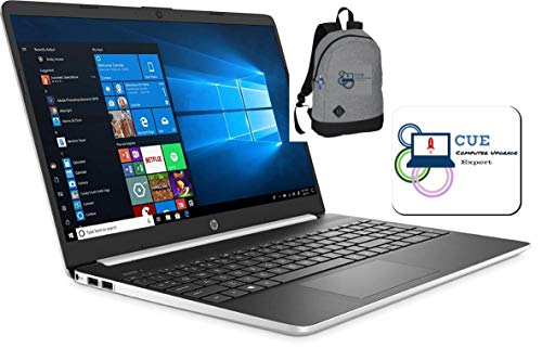 "2020 HP 15.6"" Touchscreen Laptop Computer, 10th Gen Intel Quad Core i5-1035G1 up to 3.6GHz, 16GB DDR4, 512GB SSD, 802.11ac WiFi, HDMI, Windows 10 + CUE Backpack & Mouse Pad"
