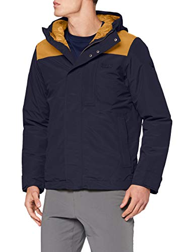 Jack Wolfskin Unisex Oakwood Jacket, Nacht Blau, S