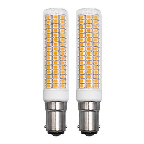 ZHENMING LED B15D 230 V blanco cálido lámpara de pie 7,5 W...