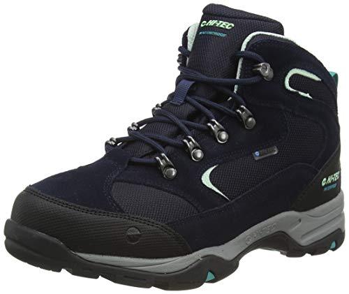 Hi-Tec Storm WP Womens Walking Shoe, Sky Captain/Mint/Navigate, 7 UK