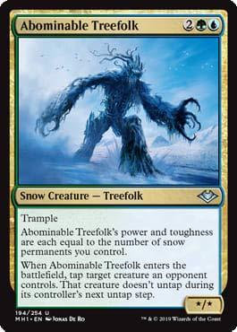 Magic: The Gathering - Abominable Treefolk - Modern Horizons