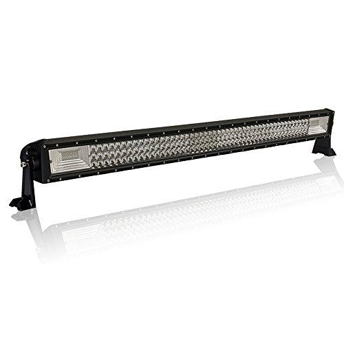 Froadp 405W LED Zusatzscheinwerfer Auto Scheinwerfer Nebel Licht Arbeitsscheinwerfer Geführtes Arbeits-Licht-Bar IP67 Wasserdicht Rückfahrscheinwerfer für SUV LKW UTV(800x75x50mm)