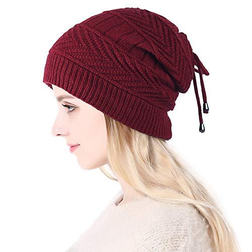 CGXBZA Damen Arbeiten Warmen Multifunktionshut Für Frauen-Weiblichen Knit-Hut Im Freien Um