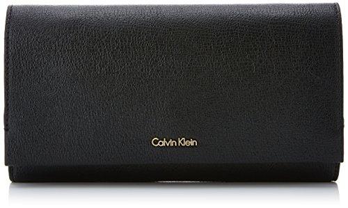 Calvin Klein Instant Clutch On Chain, Pochettes femme, Noir (Black), 5x14x27 cm (B x H T)