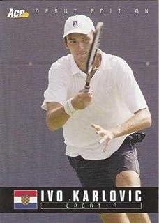 Ivo Karlovic Tennis Card (Croatia) 2005 Ace Debut #89