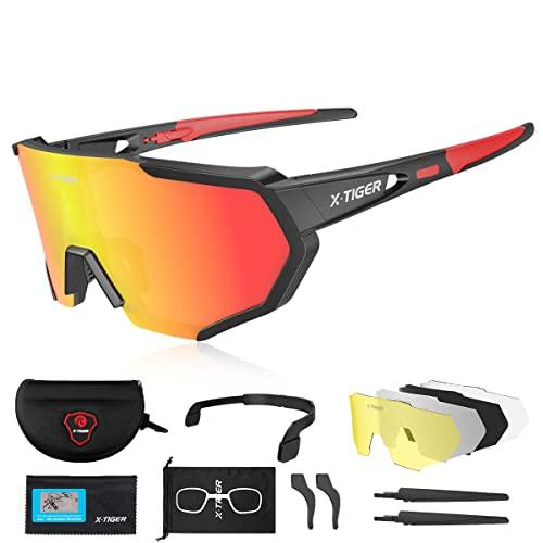 X-TIGER Gafas de Ciclismo (JPC02)