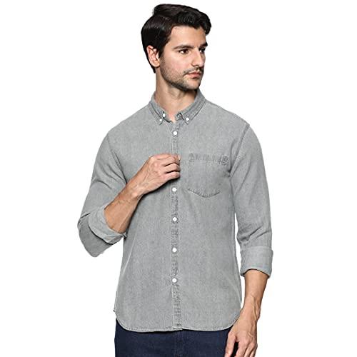 OOBANI Men's Solid Regular Shirts