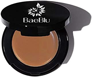 BaeBlu Organic Concealer, FULL Coverage Cover Up, 100% Natural, Made in USA, Mahogany